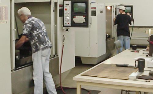 rack mount machining