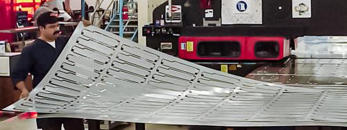 rack mount sheet metal chassis