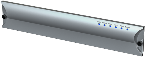 rack mount extrusion front panel