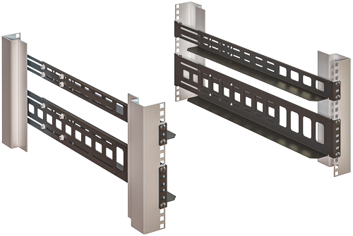 Rack Mount Chassis Support Rails